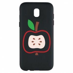 Etui na Samsung J5 2017 Abstract apple
