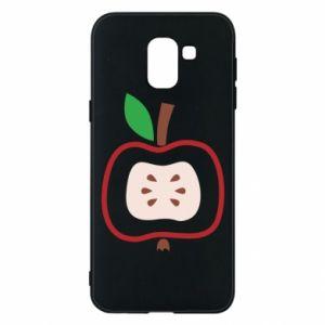 Etui na Samsung J6 Abstract apple