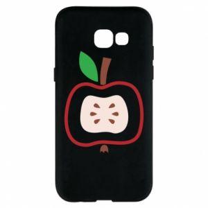 Etui na Samsung A5 2017 Abstract apple
