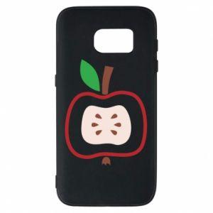 Etui na Samsung S7 Abstract apple