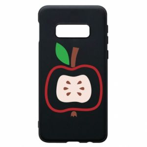Etui na Samsung S10e Abstract apple