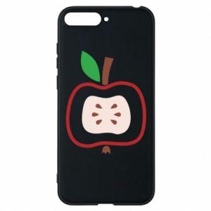 Etui na Huawei Y6 2018 Abstract apple