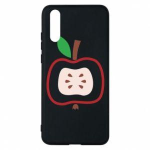 Etui na Huawei P20 Abstract apple