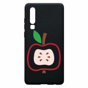 Etui na Huawei P30 Abstract apple