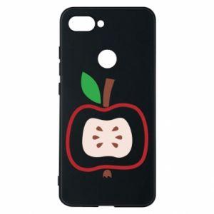 Etui na Xiaomi Mi8 Lite Abstract apple