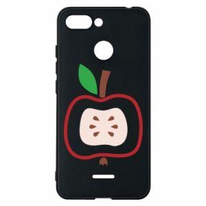 Etui na Xiaomi Redmi 6 Abstract apple