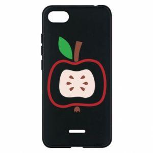 Etui na Xiaomi Redmi 6A Abstract apple