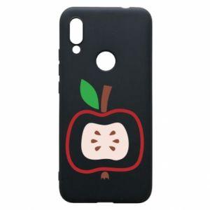 Etui na Xiaomi Redmi 7 Abstract apple
