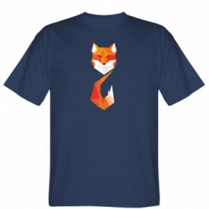 T-shirt Fox Geometry Abstraction