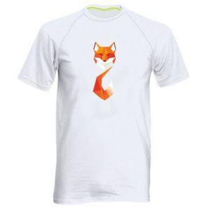 Męska koszulka sportowa Abstrakcja geometryczna Lisa
