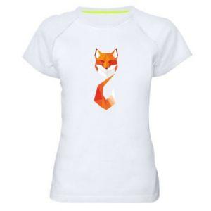 Damska koszulka sportowa Abstrakcja geometryczna Lisa