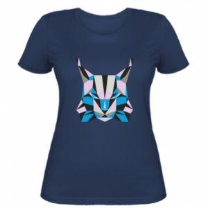 Koszulka damska Abstrakcja geometryczna kota