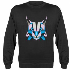 Bluza Abstrakcja geometryczna kota