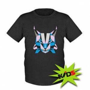 Koszulka dziecięca Abstrakcja geometryczna kota