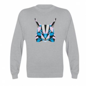 Bluza dziecięca Abstrakcja geometryczna kota
