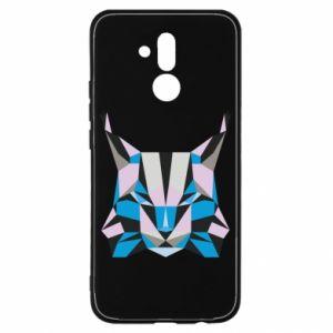 Etui na Huawei Mate 20 Lite Abstrakcja geometryczna kota