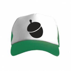 Kid's Trucker Hat Acorn