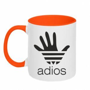 Kubek dwukolorowy Adios adidas