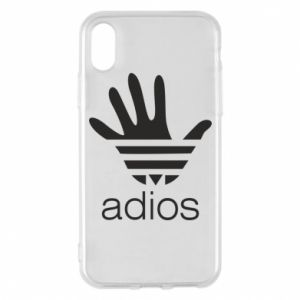 Etui na iPhone X/Xs Adios adidas