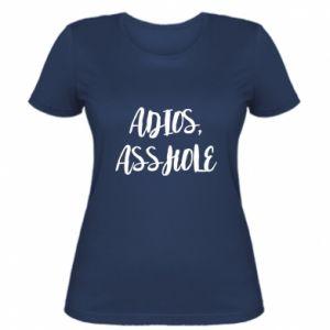 Damska koszulka Adios asshole