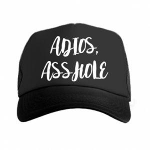 Czapka trucker Adios asshole