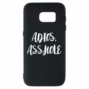 Etui na Samsung S7 Adios asshole