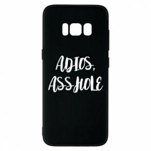 Etui na Samsung S8 Adios asshole