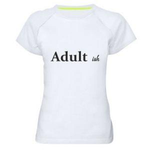 Koszulka sportowa damska Adult...ish