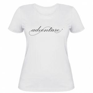 Damska koszulka Adventure aircraft