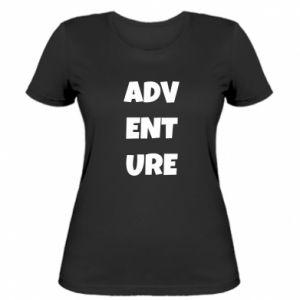 Women's t-shirt Adventure