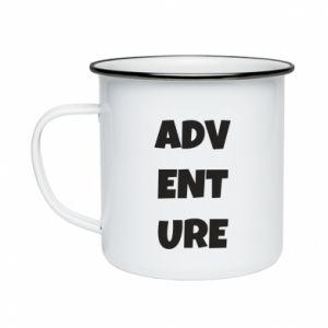 Enameled mug Adventure