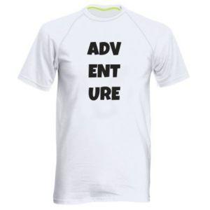 Men's sports t-shirt Adventure