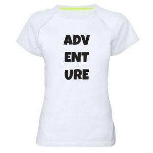 Women's sports t-shirt Adventure