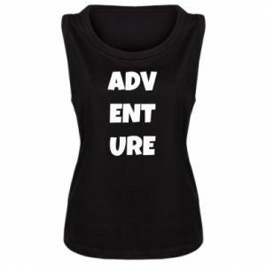 Damska koszulka bez rękawów Adventure
