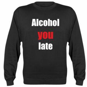 Bluza (raglan) Alcohol you late