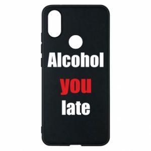 Etui na Xiaomi Mi A2 Alcohol you late