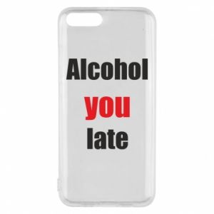 Etui na Xiaomi Mi6 Alcohol you late