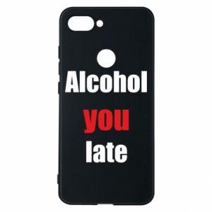Etui na Xiaomi Mi8 Lite Alcohol you late