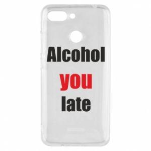 Etui na Xiaomi Redmi 6 Alcohol you late