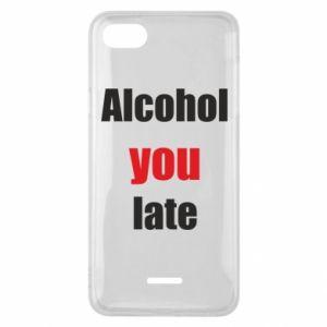 Etui na Xiaomi Redmi 6A Alcohol you late