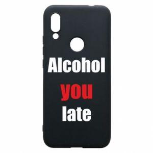 Etui na Xiaomi Redmi 7 Alcohol you late