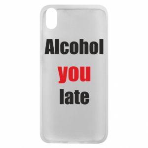 Etui na Xiaomi Redmi 7A Alcohol you late