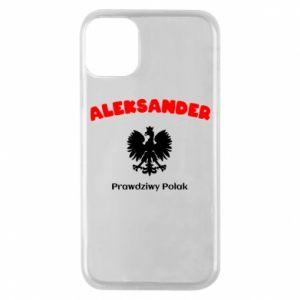 Etui na iPhone 11 Pro Aleksander jest prawdziwym Polakiem