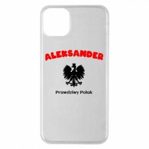 Etui na iPhone 11 Pro Max Aleksander jest prawdziwym Polakiem