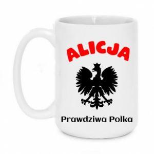 Kubek 450ml Alicja jest prawdziwą Polką