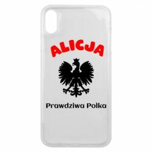 Etui na iPhone Xs Max Alicja jest prawdziwą Polką