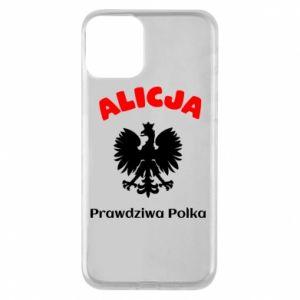 Etui na iPhone 11 Alicja jest prawdziwą Polką