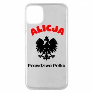 Etui na iPhone 11 Pro Alicja jest prawdziwą Polką