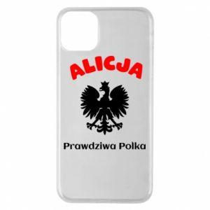 Etui na iPhone 11 Pro Max Alicja jest prawdziwą Polką