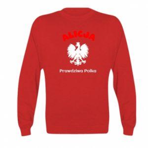 Bluza dziecięca Alicja jest prawdziwą Polką
